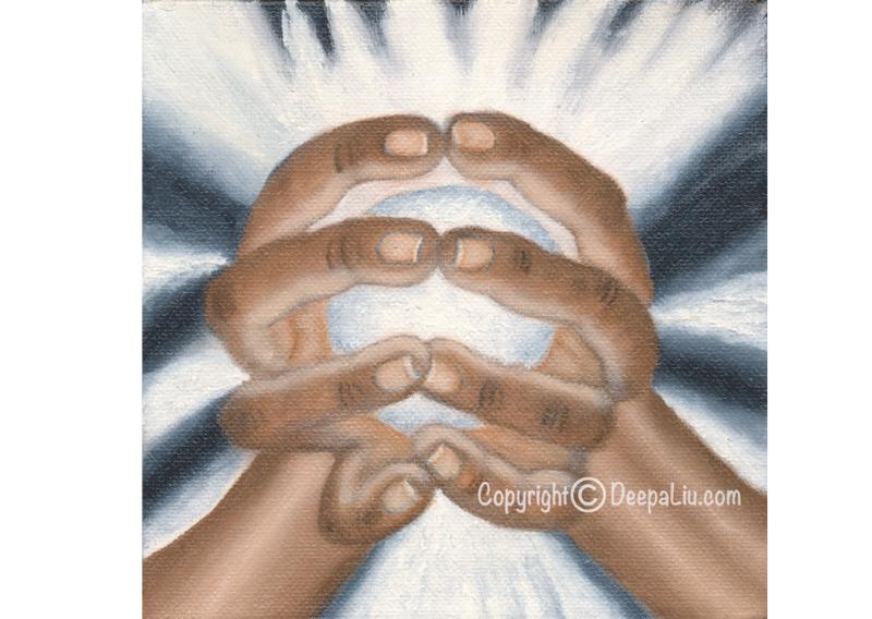 White Healing Hands